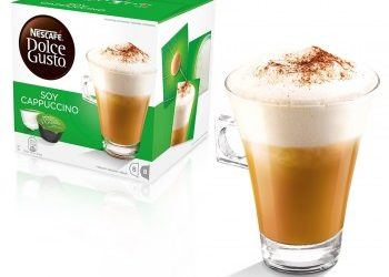 cappuccino soja dolce gusto